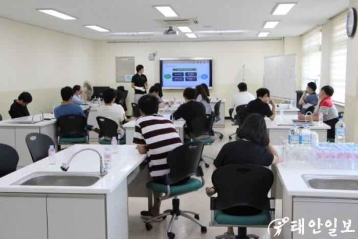 [태안교육지원청] 방학중 초등교사 소프트웨어교육 역량강화 연수실시.JPG
