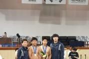 태안중, 제48회 전국소년체육대회 씨름 용장급 금메달 획득