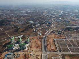 내포신도시 제2진입도로 개통...천안·아산·예산 접근성 향상