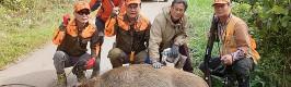 '유해야생동물 피해 막는다' 포획단 운영!
