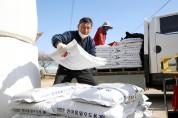 코로나19 장기화에 따른 영농자재 조기 공급...2만 6559농가에 46억 원 지원